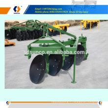 machine de labour à disque à 3 points montée sur tracteur