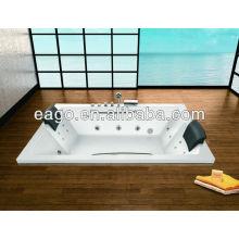 2 Person Drop-in Whirlpool Massage Bathtub (AM185RD)