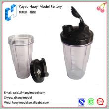 2014 fabricant de prototypes en plastique en Chine prototype professionnel de bouteille en plastique