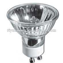 Aluminum-coated reflector GU10 halogen bulb