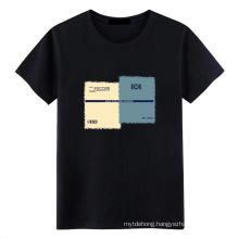 Hot Sale Factory Wholesale 100% Cotton Plain T-Shirt