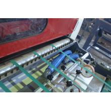 Máquina automática de conversión de papel sin eje con un solo cuchillo en espiral utilizado en la fábrica de papel y la imprenta