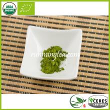 Benefícios do pó de chá verde japonês de chá Matcha