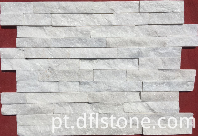 Interlock White Stacked Stones
