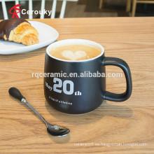 Taza de café mate vendedora caliente del final del estilo popular