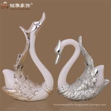 Elegant goose abstract door welcomed interior decoration piece