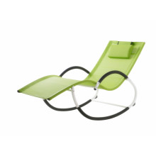 Bottom price for China Sun Loungers,Garden Sun Loungers,Folding Sun Loungers,Outdoor Sun Loungers Manufacturer and Supplier steel G shape rocking chair export to Saint Vincent and the Grenadines Suppliers