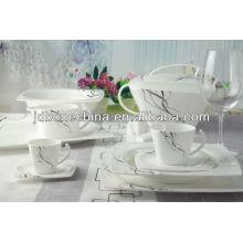 98PCS plomo libre de cadmio libre reina worcester mini placa cena de porcelana