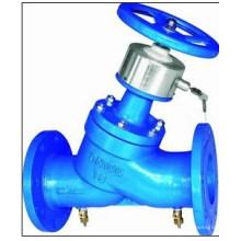 Sistema de tubería líquida utilizado válvula de equilibrio de bloqueo digital