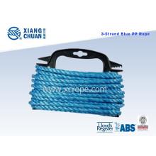 3 Strand Blue Polypropylene Monofilament Rope
