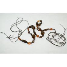 Мода Ручная работа воском шнур плетеные ремни