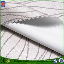 Blackout tecidos de tecido de poliéster para cortina de janela