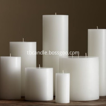 White Unscented Candles Plain White Candles