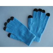 10g Polyester Liner Five Finger Touch Screen Work Glove