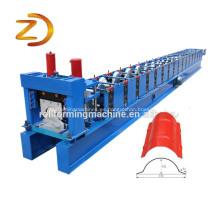 Metal Ridge Cap Tile máquina de laminado en frío