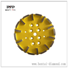 "10"" Diamond Grinding Disc for EDCO Blastrac SPE Concrete grinding 250mm Abrasive"