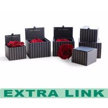 Kundengebundener Formwasserdichter Geschenkblumenkasten-Pappgeschenkverpackungskasten mit Deckel
