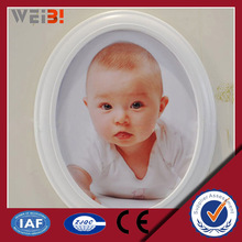 Oval The Most Beautiful Clear Plastic Photo Frame                                                                         Quality Choice