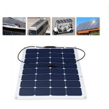 2017 Venta caliente buena calidad competitiva 100W Flexible Panel Solar