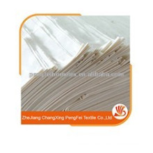 100% Microfiber White Color fabric dyed solid color fabric