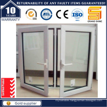 China Supplier Reasonable Price Double Tempered Glass Swing/Sliding Aluminium Window