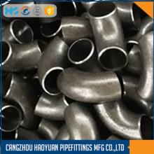 ANSI B16.9 Cotovelo de tubo de metal de 90 graus