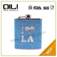 18/8 304 FDA и LFGB высокого качества 6 унций стандартного размера индейка Фляга