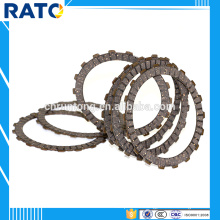 2016 adjustable 42.33g motorcycle clutch friction plates for HDT