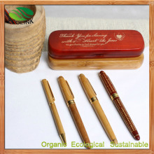 Bamboo Craft Pen Bamboo Ball Pen (EB-B4204)