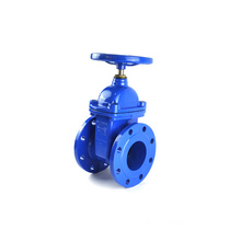 JKTL blue Epoxy paint BS 5163 gate valve for water project