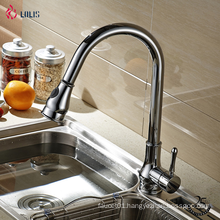 YLK0008-C Good quality single hole brass single handle taps water kitchen mixer
