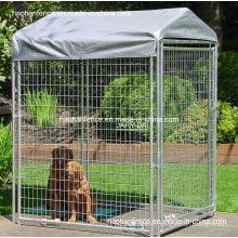 Vitrines à chien soudées à température temporaire, panneaux de chien