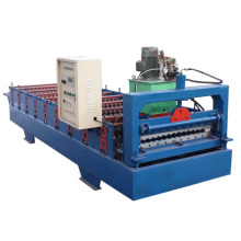 Máquina formadora de rollos corrugados