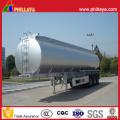 Steel Transport Liquid Tanker Water Tank Trailer with Volume Optional