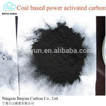 Poudre de charbon actif à base de charbon actif adsorbant de charbon