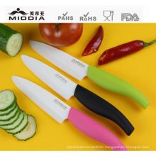 4.5 Inch Super Sharp Ceramic Fruit/Vegetable Cutter, Knives