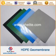 Espessura 0,2 a 2,5 mm LLDPE LDPE PVC EVA HDPE Geomembranas Liners