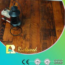 Household 12.3mmhdf AC3 Embossed Oak V-Grooved Laminated Floor