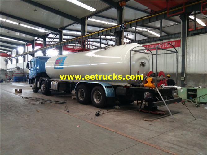 12 wheel LPG Delivery Vehicles