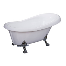 Claw Foot Cheap Acrylic Freestanding Bathtubs Small Size