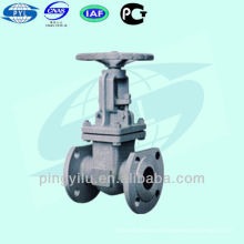 GOST válvula de compuerta en cuña de acero al carbono pn 16 Z41H-16C