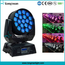 285W RGBW Zoom LED Moving Head Party Disco Lighting