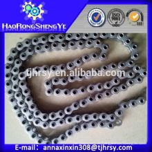 Kurze Pitch Hollow Pin Roller Chain 08BHP, 10BHP, 12BHP für Lebensmittel Maschinen