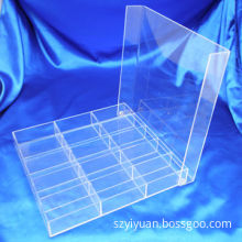 Acrylic Box with Lid, Made of Imported Taiwan Acrylic, Customized Designs Welcomed