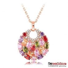 Colliers et pendentifs plaqués or 18 carats pour femmes (CNL0008-C)