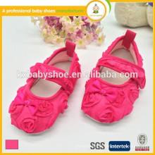 Fabricante venda quente barato adorável rosa cetim calças de vestir para meninas