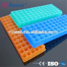 Rack de tubos de centrífuga de doble cara 0.5 / 1.5 / 2.0ml 60 orificios