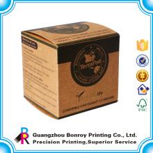 Benutzerdefinierte Handwerk Papier Seife Verpackung Boxen Drucken