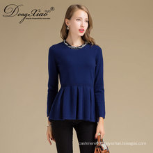 Oem European Style Merino Wool Woolen Women Outdoor Sweater In Low Price
