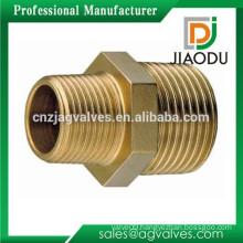 JD-1003 Male Thread Reducing Brass Pipe Nipple Fitting